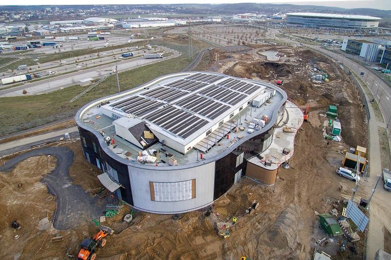 Vorbildlicher Bau: KLIMA ARENA eröffnet in zehn Monaten