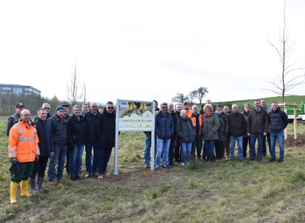 """Projekt """"1250 Bäume für Sinsheim"""""""