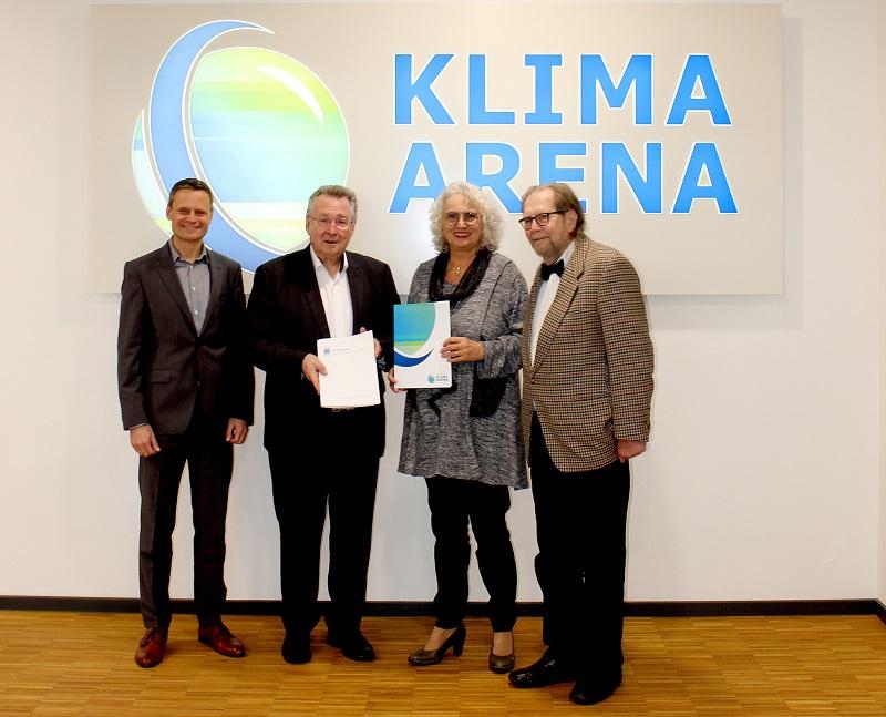 KLIMA ARENA kooperiert mit Stiftung Urmensch von Mauer