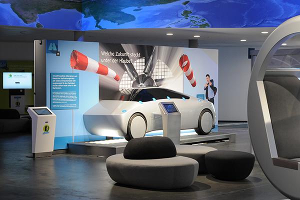 Ausstellungsbereich Mobilität der Zukunft