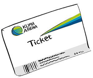 Ticket KLIMA ARENA