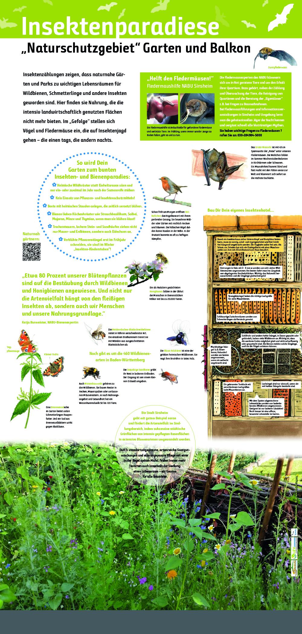 Insektenparadies Garten und Balkon