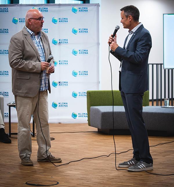 Dr. Bernd Welz, Vorstandsvorsitzender der Klimastiftung für Bürger