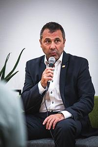 Sinsheimer Stadtoberhaupt Oberbürgermeister Jörg Albrecht