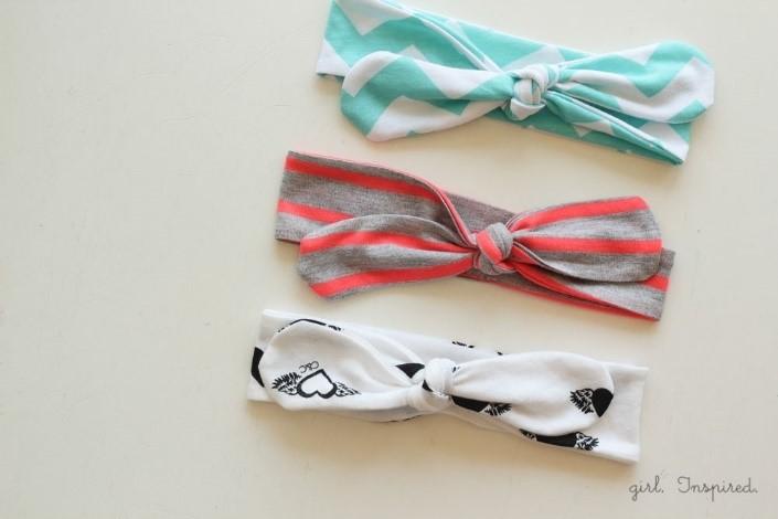 Do-it-yourself Haarbänder