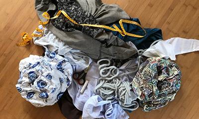 Upcycling - Pimp your Shirt und Tasche selbst gemacht