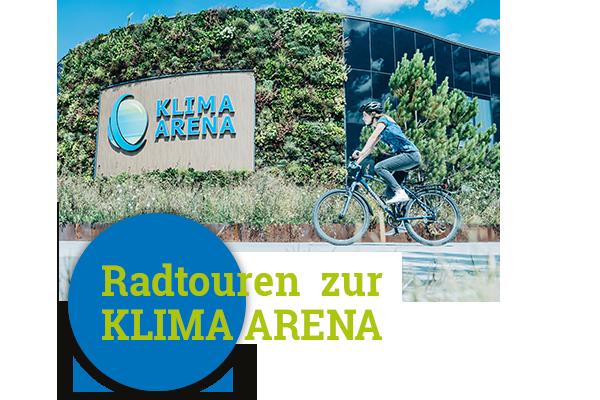 Radtour zur KLIMA ARENA