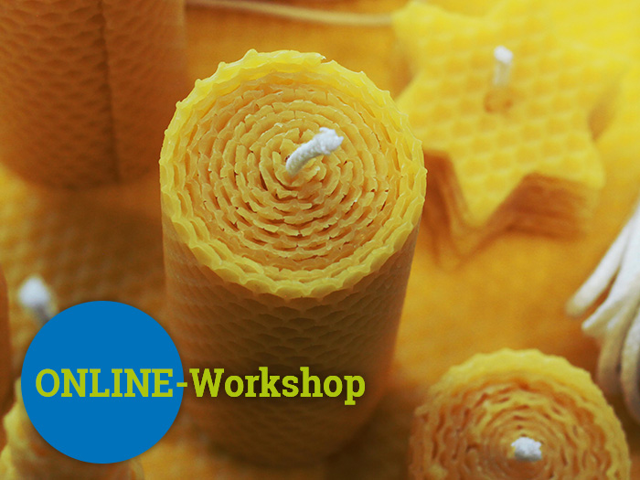 Bienenkerzen - Online-Workshop