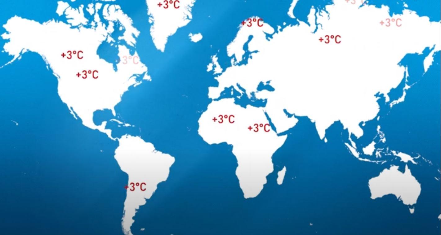 Klimaerwaermung Weltweit
