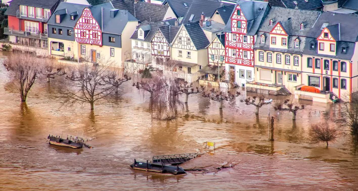 Klimaziele Überschwemmungen
