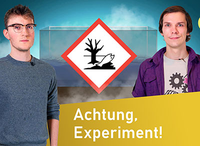 Techtastisches Experiment: Achtung, saure Meere! | on:spot mit Techtastisch