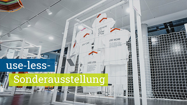 Virtuelle Tour use-less Ausstellung