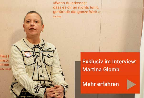 Interview mit Martina Glomb