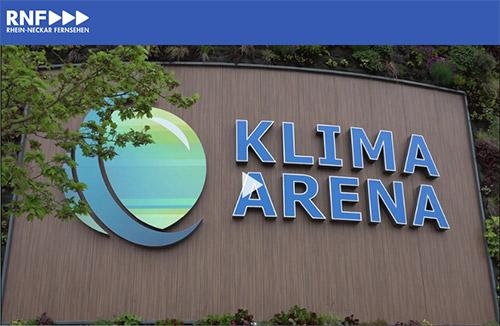 """Sinsheim: """"Arena fürs Klima"""" in der Klima Arena"""