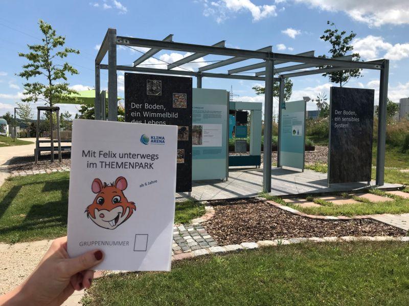 Die NATUR RALLYE - Abwechslungsreicher Themenpark-Rundgang für Familien