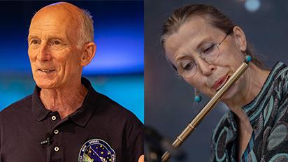 Interview mit Astronaut Dr. Gerhard Thiele und Roswitha Meyer (Stardust Sinfonie)