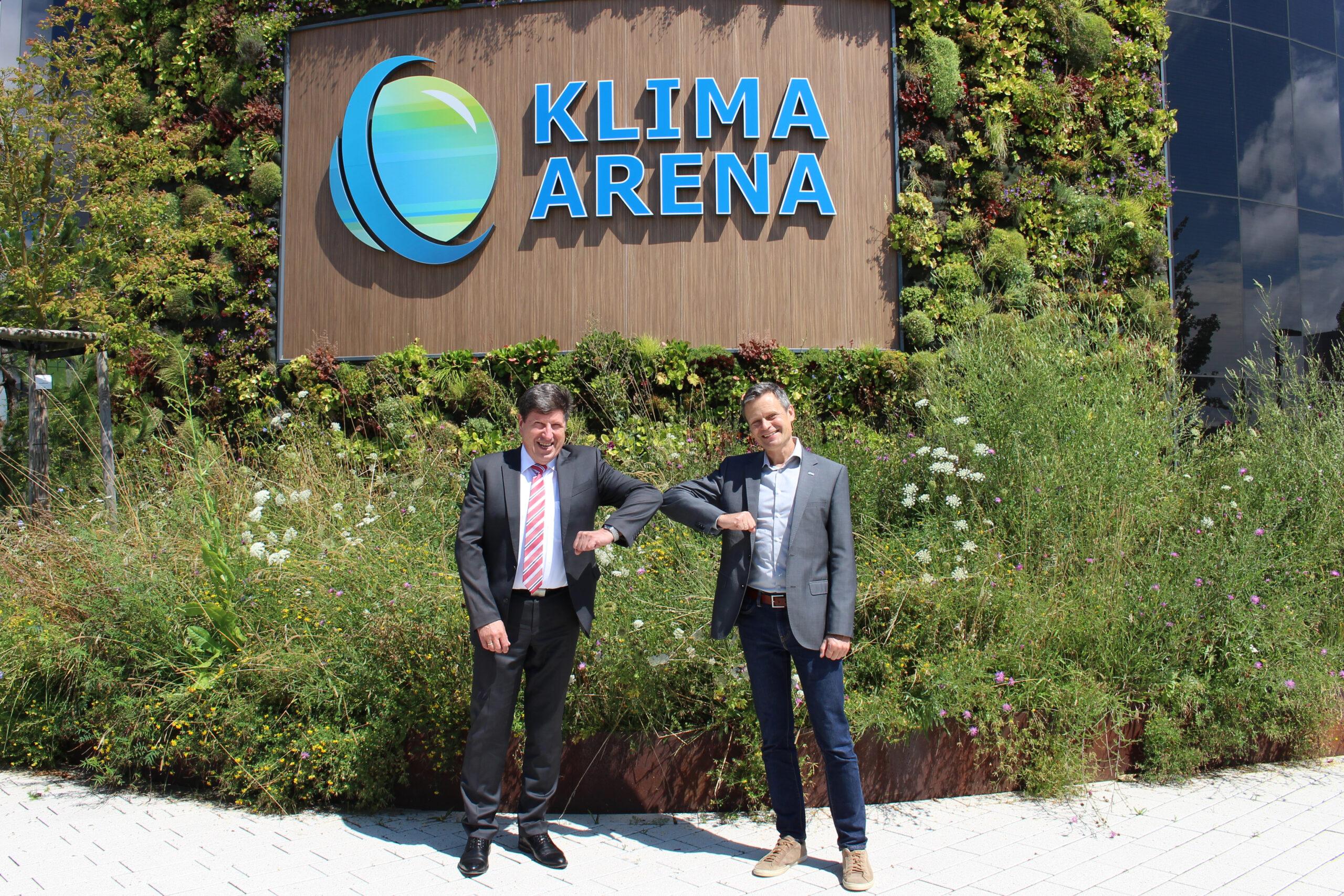 Kooperation KLIMA ARENA und KIT